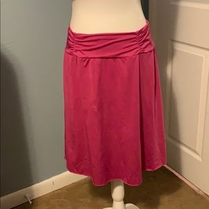 Tranquility pink stretch skirt